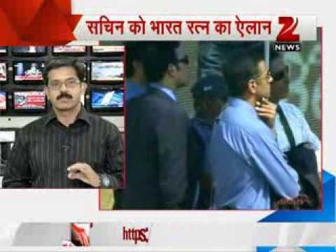 Bharat Ratna announced for Sachin Tendulkar