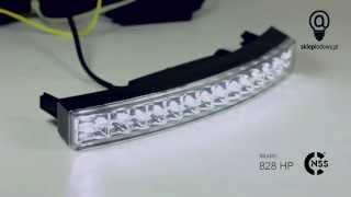 Światła LED DRL do jazdy dziennej NSSC model 828