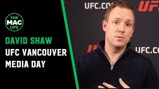 "David Shaw on Khabib Nurmagomedov vs. Georges St-Pierre: ""How's the Olympic Stadium looking?"""