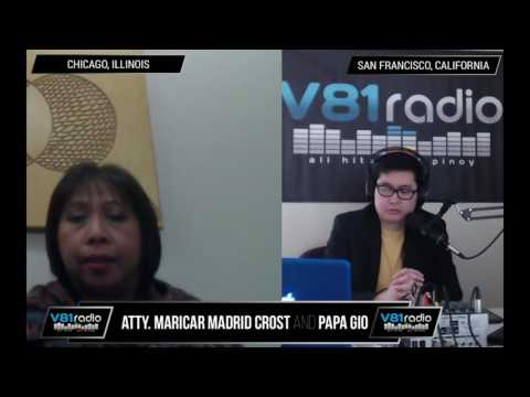Episode 54 | US Visa Law (News & FAQs) with Atty. Maricar Madrid Crost