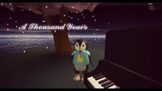 Roblox - A thousand years (PIANO)