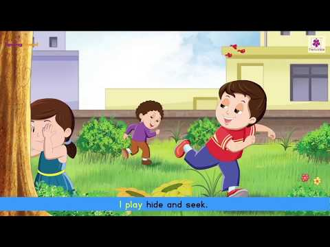 I Play | Animated English Rhyme For Kids | Periwinkle
