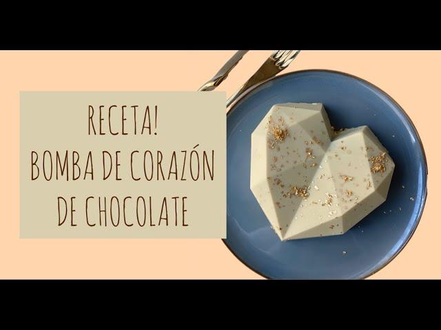 CORAZÓN DE CHOCOLATE! SÚPER FÁCIL!