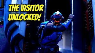 Unlocking the VISITOR SKIN! Block Buster Challenge Skin! (Fortnite: Battle Royale)