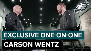 Carson Wentz Discusses Roller Coaster Season & Future Plans | Eagles One-On-One