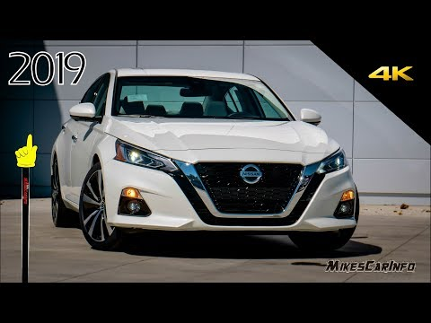 2019 Nissan Altima Platinum - Ultimate In-Depth Look in 4K