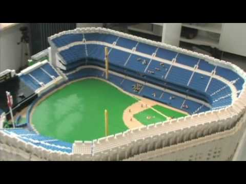 LEGO Yankee Stadium - Part 1 of 3 - YouTube