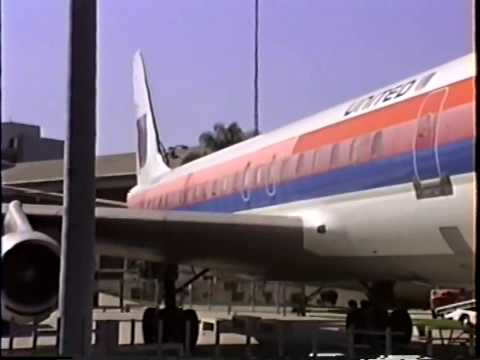 DC-8-52 On Display In Los Angeles