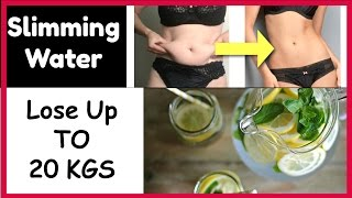 Drink This Water For FAST Weight Loss,Lose Up To 20KG, Get a Flat Stomach Fast With Slimming Water
