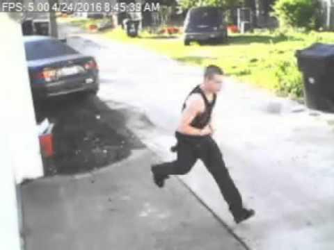 Surveillance footage of Germantown Thieves