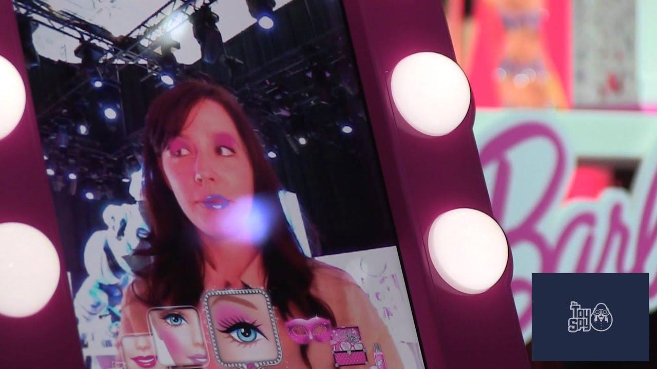 Barbie Digital Makeover Mirror 2013 New York Toy Fair
