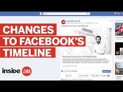 Facebook's algorithm change