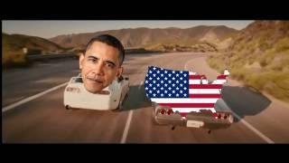 Обама ушел с поста президента США (ПРИКОЛ 2017)