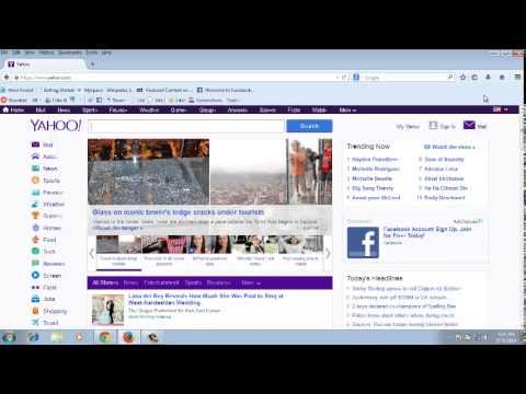 Make My Yahoo Default Home Page