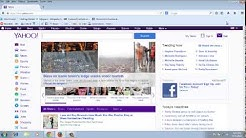 How To Make Yahoo My Home Page On Firefox