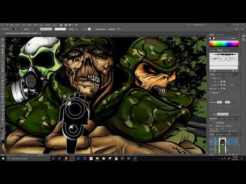 ADOBE ILLUSTRATOR TUTORIAL | how to INVISIBLE INKING BRUSH| FASTER PRODUCTION thumbnail