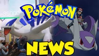 POKEMON NEWS! Legendary Pokemon Go Trailer and Mega Stone Event!