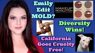 What's Up in Makeup NEWS! Mold in Emily's Wants Palette? California Goes Cruelty Free & MORE!
