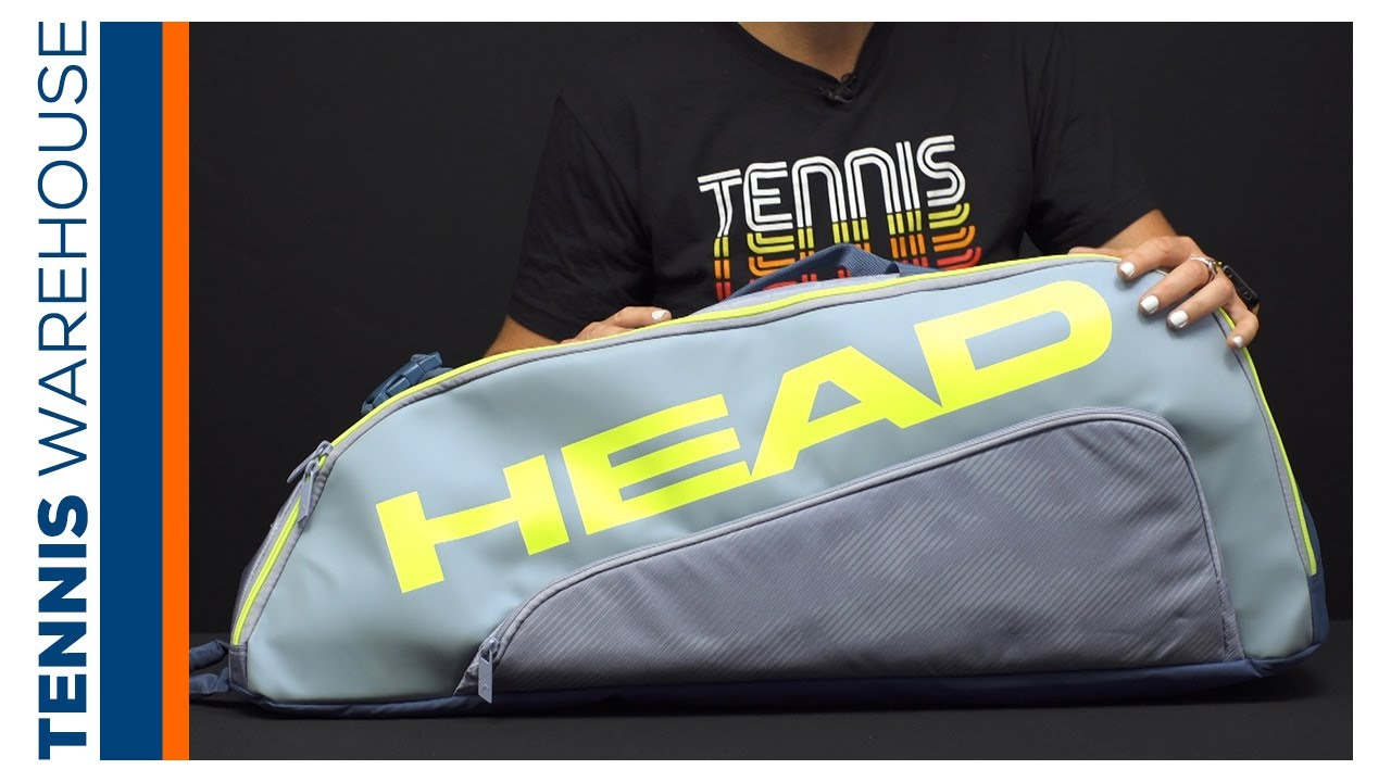 Product Video: HEAD Tour Team Extreme 6 Pack Combi Tennis Bag