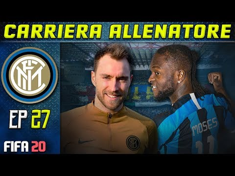 PRIMO DERBY DI ERIKSEN! | FIFA 20 Carriera Allenatore INTER [#27] ★ ULTIMATE