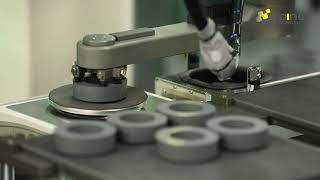 다인로보틱스/분말성형 프레스 적용사례