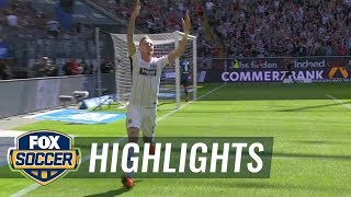 Eintracht Frankfurt vs. Hamburger SV | 2017-18 Bundesliga Highlights