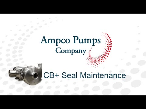 Ampco CB+ Craft Brew Pump Seal Maintenance Training