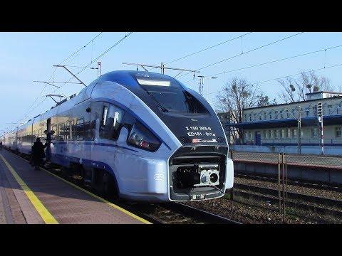 PKP Intercity IC 41110 Katowice ⇒ Częstochowa ⇒ Koluszki Pesa Dart ED 161
