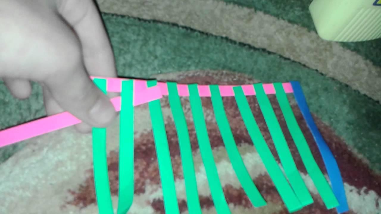 Как сделать коврик 2 класс технология видео фото 869