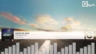 SIMON DE JANO - The Way It Is (Radio Edit)