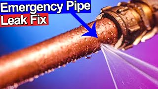 FIX LEAKING COPPER PIPE - PINHOLES - Plumbing Tips