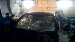 Демонтаж лобового стекла на Ford Focus 2