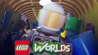 ACIDENTE DE FOGUETE ! (LEGO WORLD)