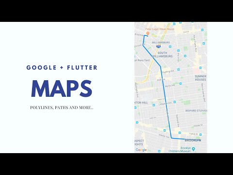 Flutter - Google Maps - Drawing Routes with Polylines