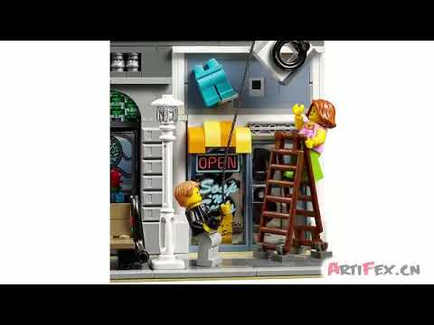 Creator Detective's Office 10246 Compatible 15011 Review