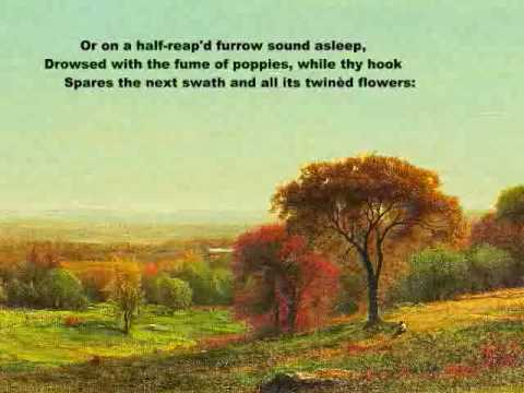 to autumn by john keats analysis Keats allegedly wrote to autumn after a particularly inspiring country walk after sharing a one or two sentence summary of the poem to autumn by john keats learn this poem has learning.