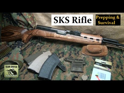 SKS : Prepper Rifle & Tapco Upgrades