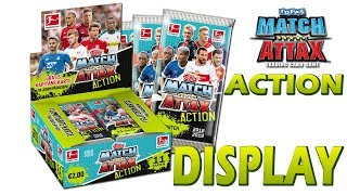 MATCH ATTAX ACTION 2018/19 FULL DISPLAY Unboxing Opening
