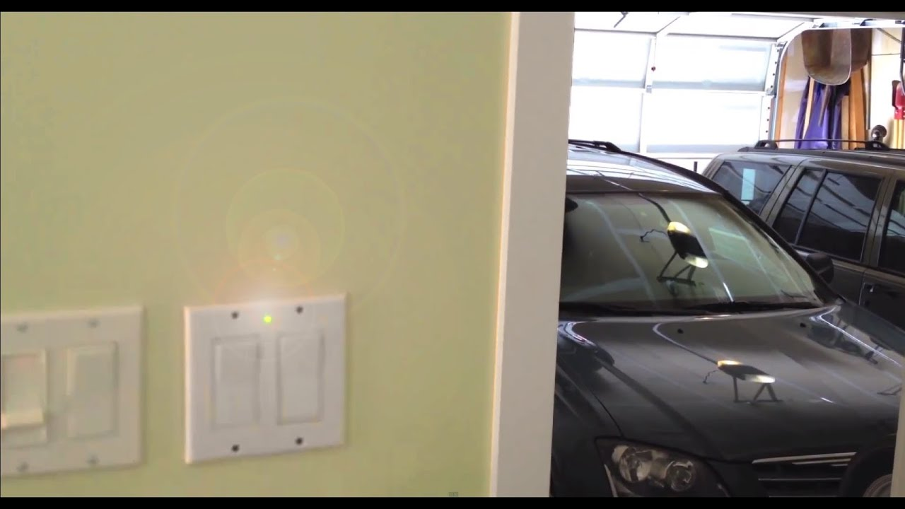 How To Make A Open Garage Door Warning Light Anti Theft