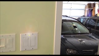 How To Make A Open Garage Door Warning Light - Anti-theft Alarm