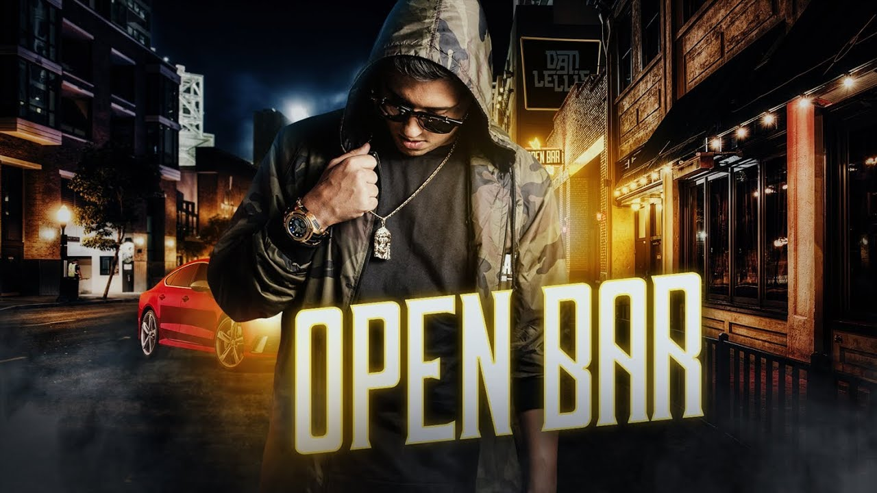 Open Bar Dan Lellis Official Music Video Youtube