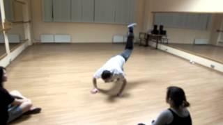 Импровизация на тренировке House (Gelo)