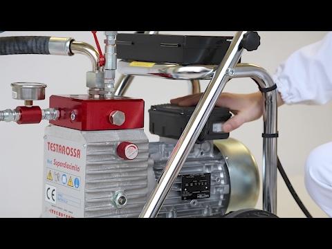 Come si utilizza una Pompa Airless TECNOVER