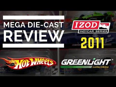 MEGA Die-Cast Review - 2011 Hot Wheels IndyCar Die-Cast 1:64