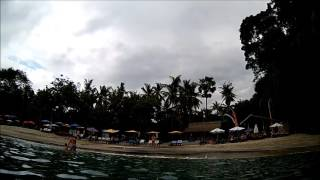 Virgin Beach Above the Water View Bali, Indonesia AKASO EK5000 Action Camera | Lucky Vagabond