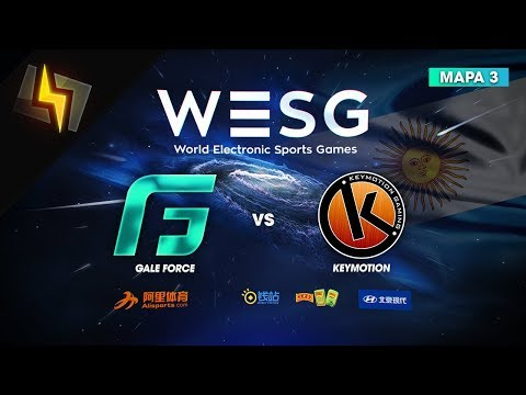 [ES] Gale Force vs KeymotioN | WESG Argentina | SEMIFINAL | BO3 | Cache | ft. Black