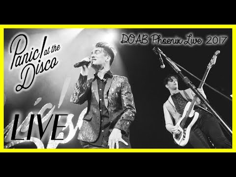 PANIC! AT THE DISCO FULL LIVE CONCERT - PHOENIX 2017 - GOOD QUALITY!!!