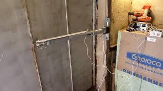 Линейный привод (актуатор) для ворот из подручн. материалов своими руками. ч.4  апгрейд конструкции.