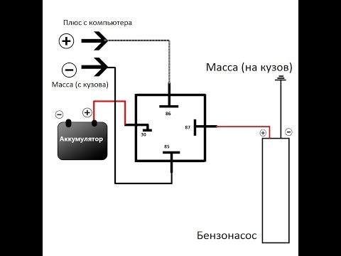 Доработка системы питания бензонасоса