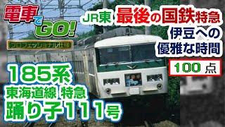 【電GO!プロ】185系 特急 踊り子号 伊豆急下田・修善寺行き